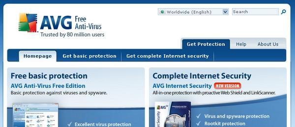 Scarica gratis l'antivirus: Avg