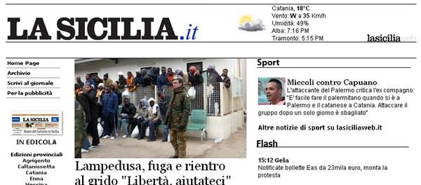 Notizie dalla Sicilia