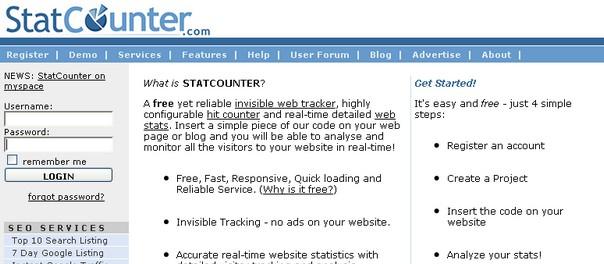 Statistiche gratis per il tuo sito