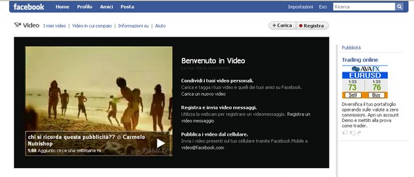 Video per Facebook