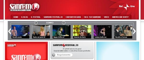 Le canzoni di Sanremo 2009