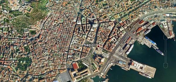 Napoli vista dal satellite