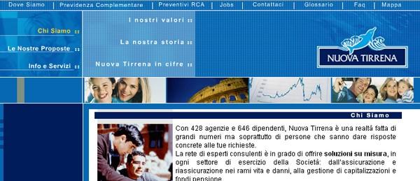 Assicurazioni on line nuova tirrena for Assicurazione casa on line