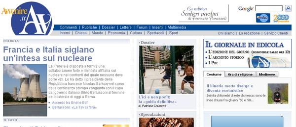 Quotidiani italiani: Avvenire