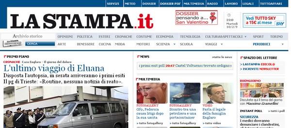 Le ultime notizie de La Stampa