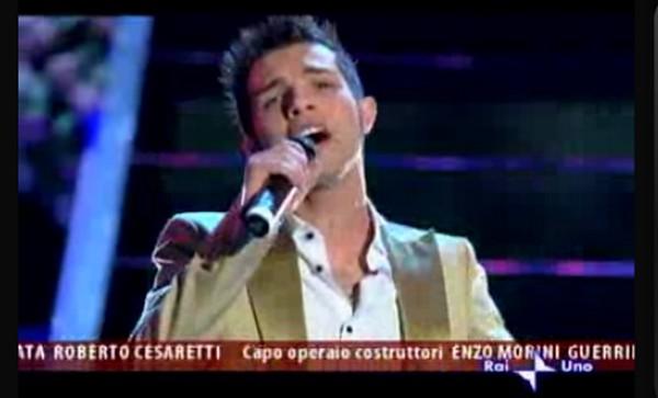 Marco Carta, vincitore di Sanremo 2009