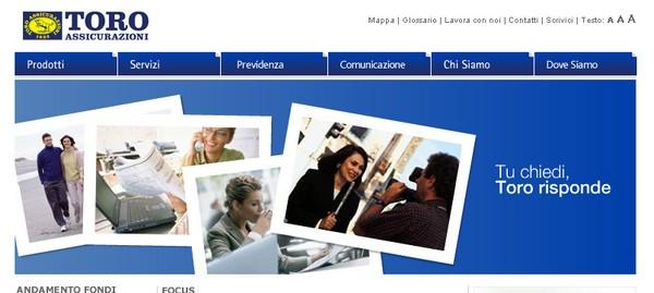 Preventivi online con Toro Assicurazioni