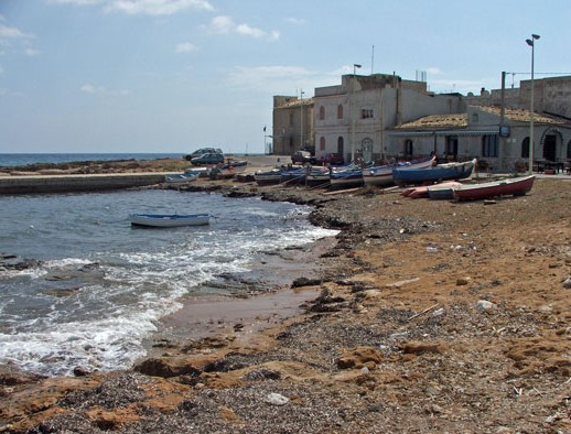 Una spiaggia in contrada Calabernardo (Balata) a pochi km da Noto
