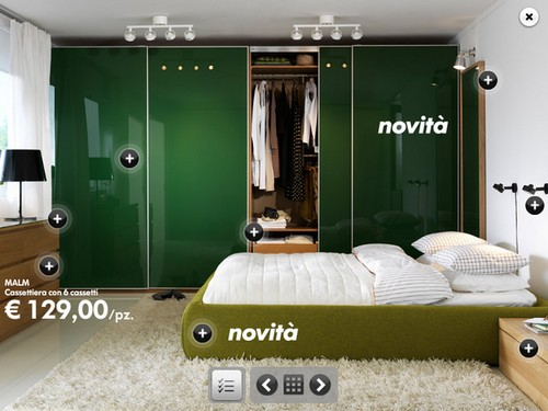 Armadio per camera da letto ikea design casa creativa e for Mobili camera da letto economici