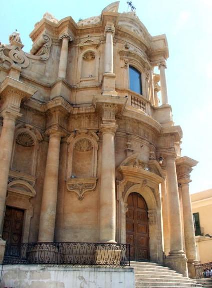 La Chiesa barocca di San Domenico a Noto