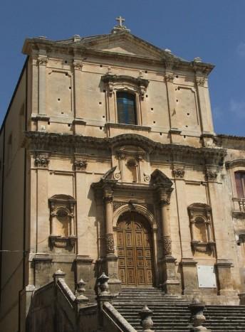 La Chiesa in stile barocco di San Francesco a Noto