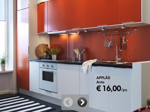 Una delle tante cucine IKEA