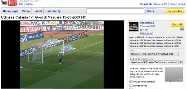 I gol più belli di Mascara, il grande calciatore del Catania