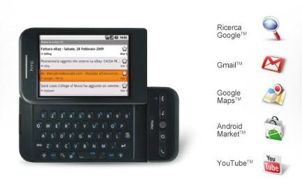 Il Googlefonino in vendita con Tim