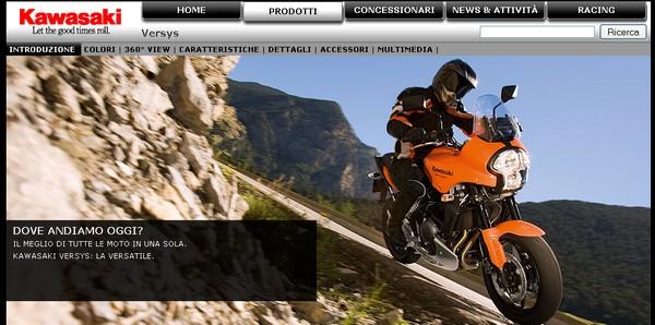 Informazioni e foto della Kawasaki Versys