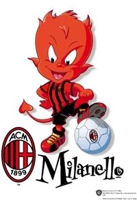 Milanello, la mascotte del Milan