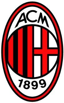 Lo stemma del Milan