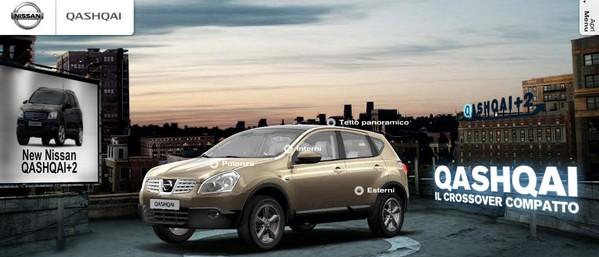 Uno dei SUV più venduti: Nissan Qashqai