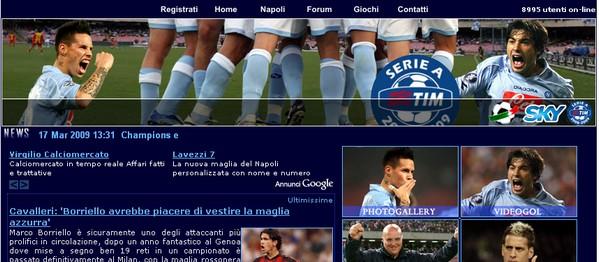 Aggiornamenti e notizie sul Napoli Calcio
