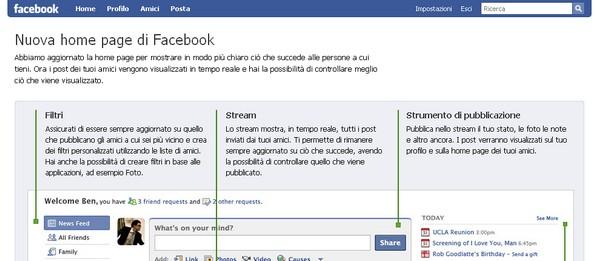 Le novità di Facebook