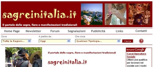Sagre, fiere e manifestazioni tradizionali in Italia