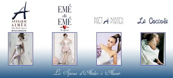Abiti da sposa dell'Atelier Aimée: A, Emé di Emé, Prêt à Porter