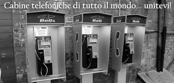 Foto di cabine telefoniche di tutto il mondo