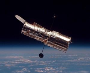 Il telescopio spaziale Hubble (foto Wikipedia)