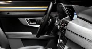 Gli interni della nuova Mercedes GLK