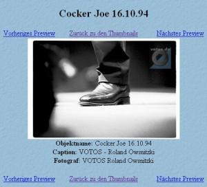 Joe Cocker - clicca sull'immagine per ingrandirla