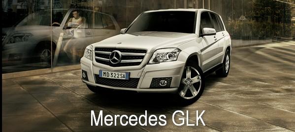 SUV di lusso: nuova Mercedes GLK