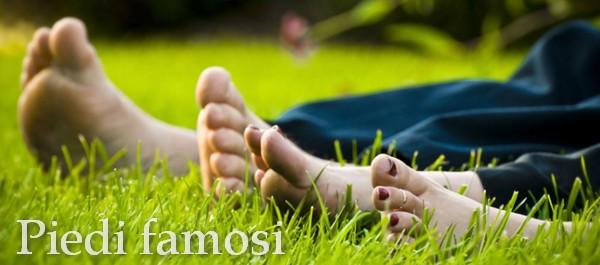 Finalmente online i piedi delle persone famose :-)