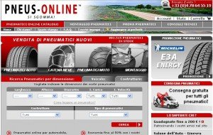 Pneumatici per auto su Pneus-online