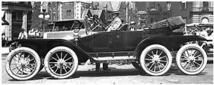 La Overland OctoAuto del 1911 - foto Repubblica.it