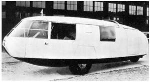 La Fuller Dymaxion del 1933 - foto Repubblica.it