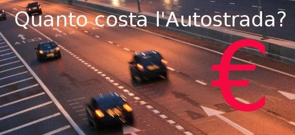 Calcola il pedaggio autostradale
