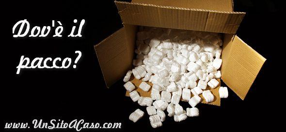 Controllare le spedizioni di pacchi e lettere