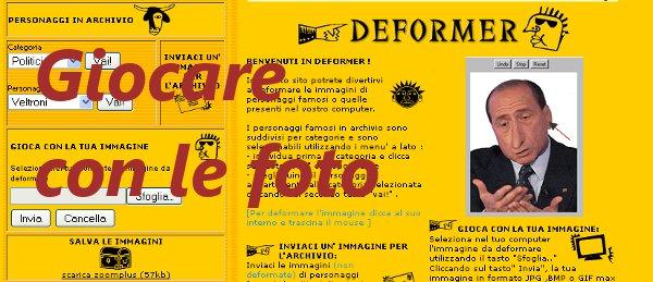 Deformate le vostre foto su Deformer