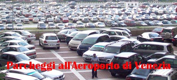 Parcheggiare all'Aeroporto di Venezia Marco Polo