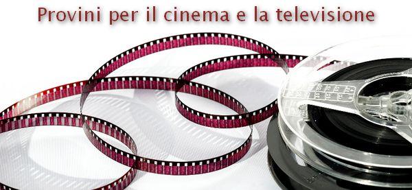 Provini per il cinema, la televisione e la pubblicità