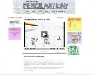 Cartoni animati divertenti su Pencilmation.com