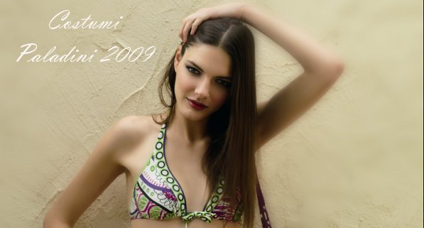 La collezione 2009 di costumi da bagno Gianantonio Paladini