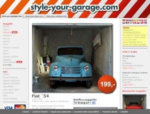 Parcheggiate una fiammante Fiat degli anni '50 nel vostro garage!