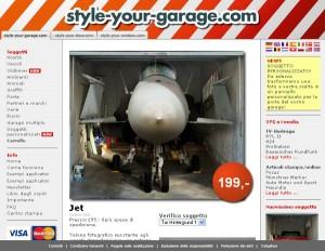 Il pannello più venduto su style-your-garage: il Jet