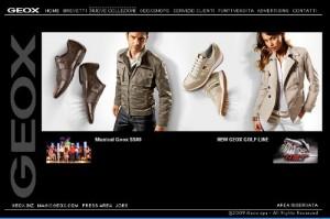 La nuova collezione Geox di calzature e abbigliamento su Geox.com