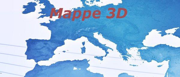 Mappa 3D della città di Cagliari - Sardegna