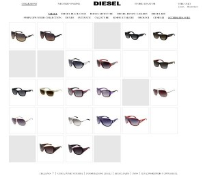 Occhiali da sole Diesel