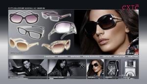 Gli occhiali da sole e da vista Extè 2009