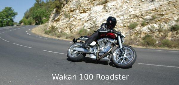 La magnifica Wakan 100 Roadster