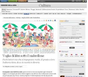 Quali libri leggere quest'estate su Corriere.it